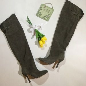 Dolce Vita Size 7.5 Suede Over The Knee Boots